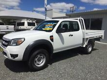 2011 Ford Ranger PK XL (4x4) White 5 Speed Manual Super Cab Chassis Newcastle Newcastle Area Preview