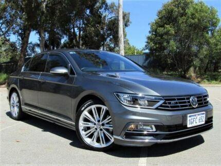 2016 Volkswagen Passat 3C (B8) MY16 140TDI DSG Highline Grey 6 Speed Sports Automatic Dual Clutch Kalamunda Kalamunda Area Preview