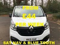 FROM £186.06 PER MONTH 2015 RENAULT TRAFIC 1.6dCi L/R Van SL29 Business+ SATNAV