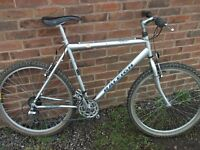 Raleigh Maxin Mountain Bike with 21inch Cromoly frame Near Ratcliffe on Soar