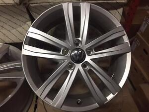 "New Arrival Set of 4 OEM VW 17""x7"" silver paint take off brand new cars"