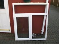 WINDOW WITH RIGHT SIDE OPENING FOR GARAGE SHED OR KITCHEN WITH ALL GLASS UNITS £20 ono