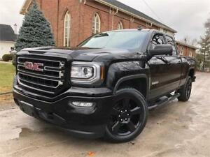2017 GMC Sierra 1500- BLACK ON BLACK - ELEVATION - CERTIFIED