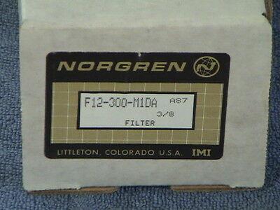 Norgren F12-300-m1da Filter Water Seperator New In Box