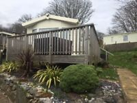 2 bed caravan with DG & CH at Lydstep, Near Tenby, Pembrokeshire not Kiln Park