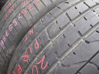 275/40/20 Pirelli P Zero TM x2 A Pair, 5.0mm (168 High Road, Romford, RM6 6LU) Second Hand Tyres