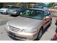 2002 HONDA ACCORD SPECIAL EDITION AUTO E-TESTED SAFETY