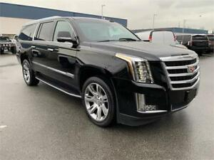 2018 Cadillac Escalade ESV Luxury AWD BLACK FINANCE @ 2.99%