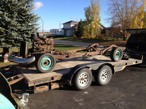 1947 Nash chassis and power train for sale.. ready to deliver