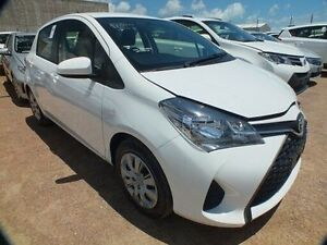 2015 Toyota Yaris NCP130R MY15 Ascent Glacier White 4 Speed Automatic Hatchback Bohle Townsville City Preview