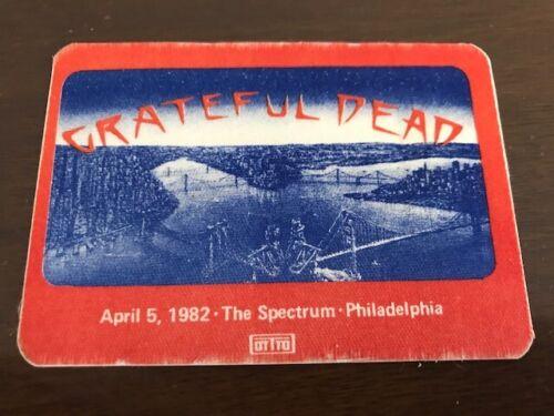 Grateful Dead - backstage pass - Spectrum - Philadelphia - 4/5/82 - RARE!