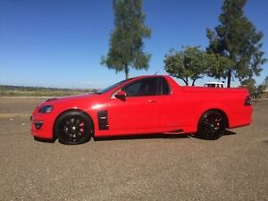 2012 Holden Special Vehicles Maloo Red Manual Utility Hillvue Tamworth City Preview