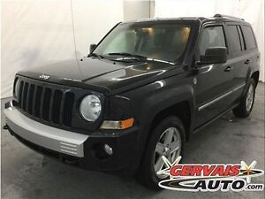 Jeep Patriot Limited 4x4 Cuir Toit Ouvrant MAGS 2010