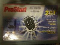 ProStart Remote Control 2in1 Car Starter
