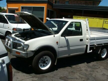 1997 Holden Rodeo TFR7 DX (4x4) White 5 Speed Manual 4x4 Cab Chassis Islington Newcastle Area Preview
