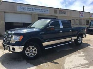 2013 Ford F-150 XLT-4WD-XTR PACKAGE-BACK UP CAMERA-LOADED-ALLOYS