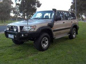 99 NISSAN PATROL GU ST INTERCOOLED TURBO DIESEL 4X4 WAGON! Mordialloc Kingston Area Preview
