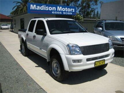 2006 Holden Rodeo RA MY06 Upgrade LX White 4 Speed Automatic Crew Cab Pickup Tuncurry Great Lakes Area Preview