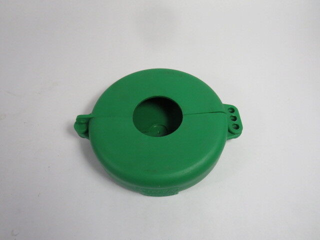 "North VS06G Green Lockout for Wheel Valve for Size 5-6-1/2""  USED"