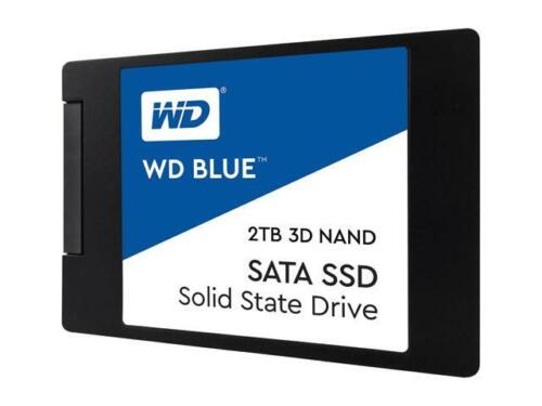 "WD Blue 3D NAND 2TB PC SSD - SATA III 6 Gb/s, 2.5""/7mm - WDS"