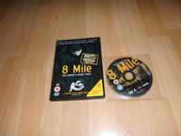 Emime 8 Mile dvd in protective cover and original case with no scratches to the disc