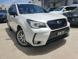2016 Subaru Forester S4 MY16 tS CVT AWD White 8 Speed Constant Variable Wagon Hoppers Crossing Wyndham Area Preview