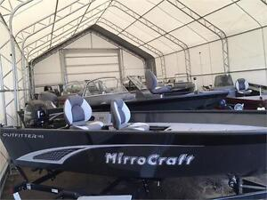 *ALL NEW* MIRROCRAFT 145T WITH 25HP MERC ONLY $13900