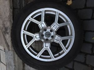 Land Rover rims & winter tires (Continental) - mint condition!