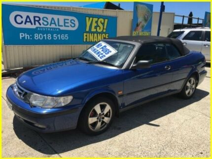 1998 Saab 9-3 S Blue 4 Speed Automatic Convertible Kogarah Rockdale Area Preview