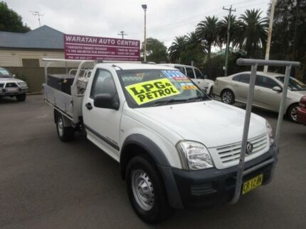 2003 Holden Rodeo RA LX (4x4) White 5 Speed Manual Cab Chassis Waratah Newcastle Area Preview