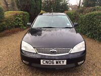2006 Ford Mondeo 1.8 petrol, 52,796 miles, MOT March, excellent condition
