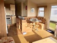 Static caravan for sale on Sandy Bay, Northumberland