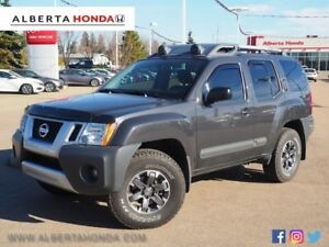 2015 Nissan Xterra Sunroof. Heated Leather Seats. Traction Contr