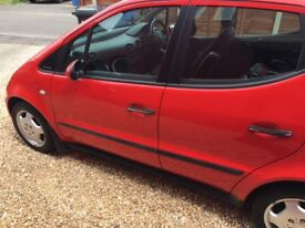 Mercedes Benz A170 Class for quick sale