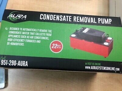 Aura Systems Condensate Removal -