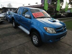 2005 Toyota Hilux KUN26R SR5 (4x4) Blue 5 Speed Manual New Lambton Newcastle Area Preview