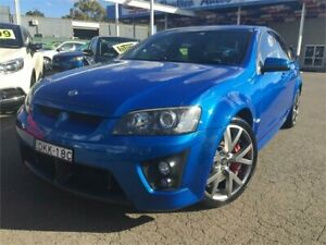 2008 Holden Special Vehicles ClubSport E Series MY08 Upgrade R8 Blue 6 Speed Auto Active Sequential Blacktown Blacktown Area Preview