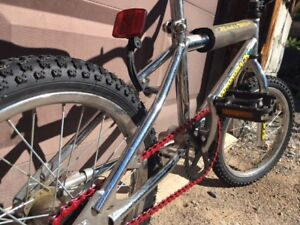 vintage chrome diamondback mini viper bmx 16""