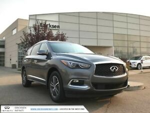 2016 Infiniti QX60 LUXURY AWD/ BACK UP MONITOR/ HEATED SEATS AND