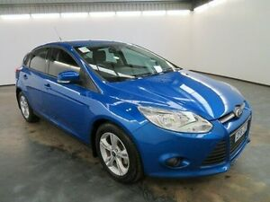 2012 Ford Focus LW MK2 Trend Blue 6 Speed Automatic Hatchback Albion Brimbank Area Preview