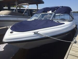 immaculate low hour bow rider for sale