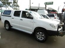 2011 Toyota Hilux KUN26R MY11 Upgrade SR (4x4) White 4 Speed Automatic Dual Cab Pick-up Yagoona Bankstown Area Preview