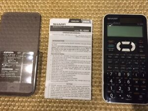 SHARP Advanced D.A.L. Scientific Calculator  EL-520X