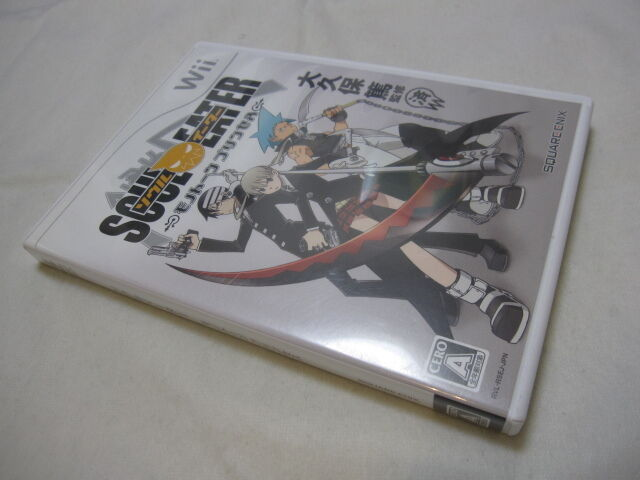 Used Wii Soul Eater: Monotone Princess. Japan wii Exclusive use