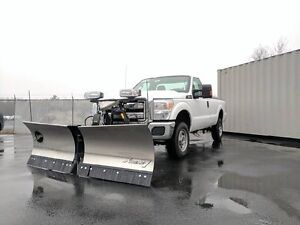 2015 Ford F-250 (NEW FISHER 8 1/2' SS V-BLADE )