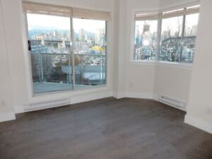 RARE Brand new 2 BD 2bath VIEW. Steps from Granville Island