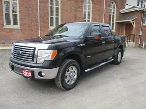 2012 Ford F-150 XTR  + CREW CAB + 4X4   ONLY 159K!   ECOBOOST