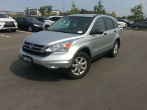 2010 Honda CR-V LX, A/C, LOW KM!