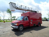 1999 Ford E350 Bucket Truck selling at Auction!