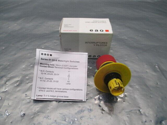 EAO EUS-61-3440.41/047 Emergency Stop Push Button Switch, 100570